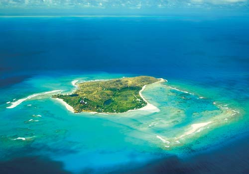 Necker Island-sky view