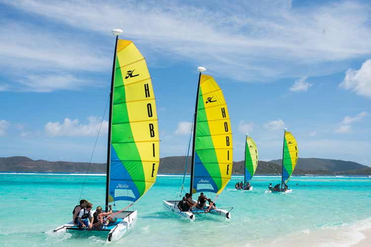 necker island catamaran