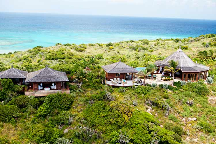 necker island external view