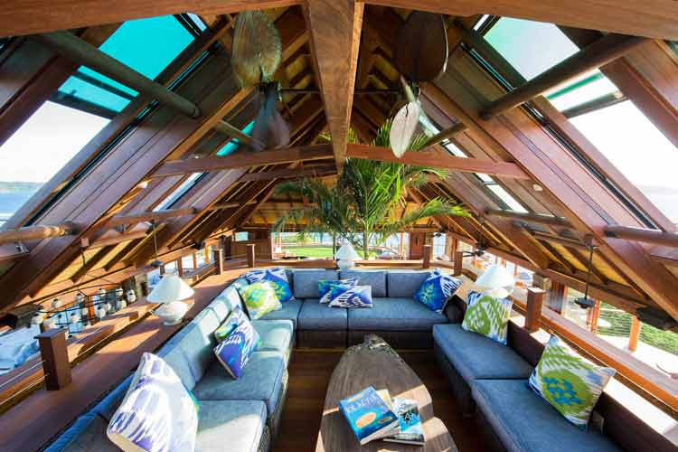 necker island living room
