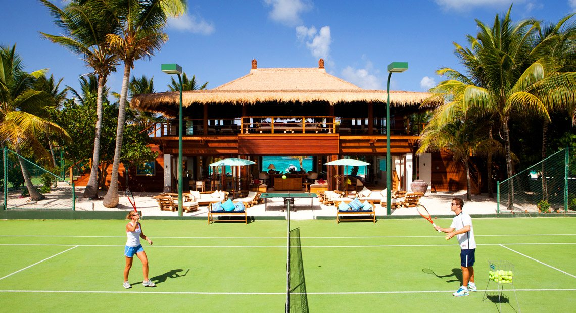 Necker-Island- tennis court