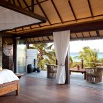 Bedroom with terrace at Necker Island