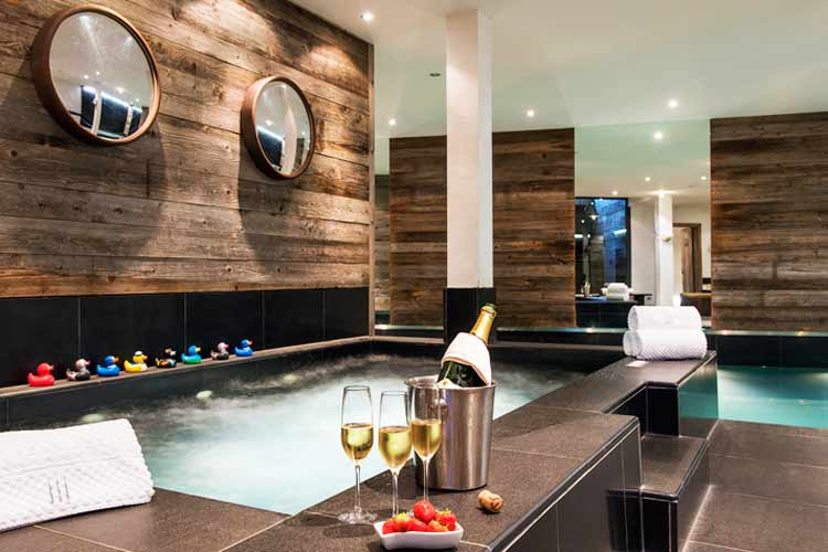 The Lodge Verbier-indoor pool