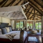 Bedroom with light Ulusaba Private Game Reserve