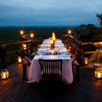 Diner at night Ulusaba Private Game Reserve