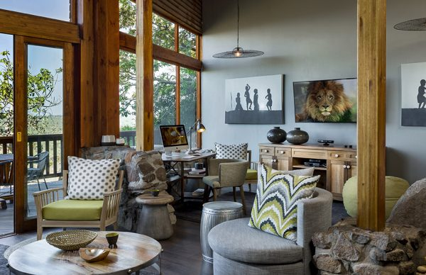 Living room Ulusaba Private Game Reserve