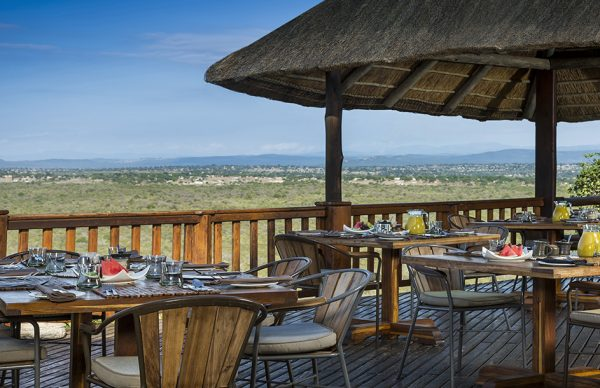 Amazing view from Ulusaba Private Game Reserve Terrace