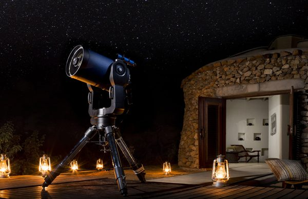 Star gazing at Ulusaba Private Game Reserve