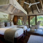 Bedroom with 2 separate beds Ulusaba Private Game Reserve