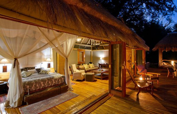 Ulusaba Private Game Reserve by night