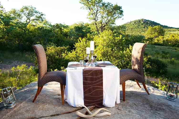 Ulusaba private diner