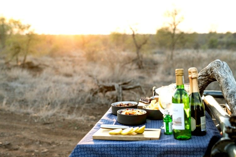 Singita Lebombo Lodge Nourriture