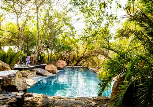 Singita Ebony Lodge Swimming Pool