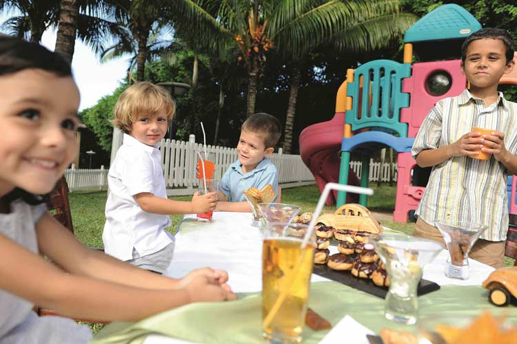 Lux Belle Mare Mauritus-kids party
