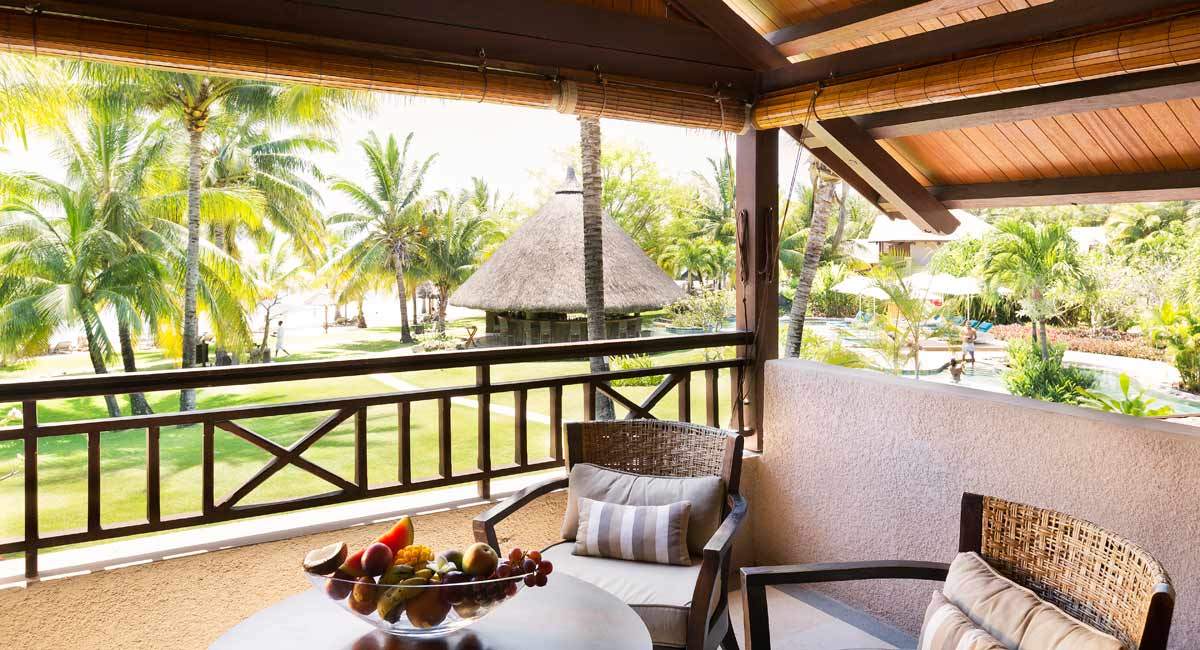 Lux Le Morne-private terrace