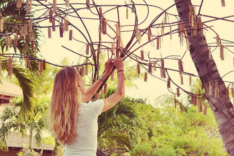 Lux Le Morne Mauritius-wishes tree