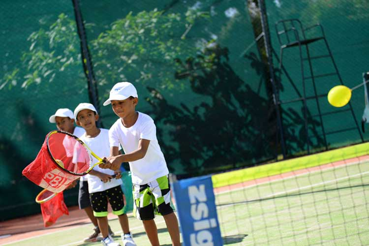Lux Le Morne Mauritius-tennis for kids