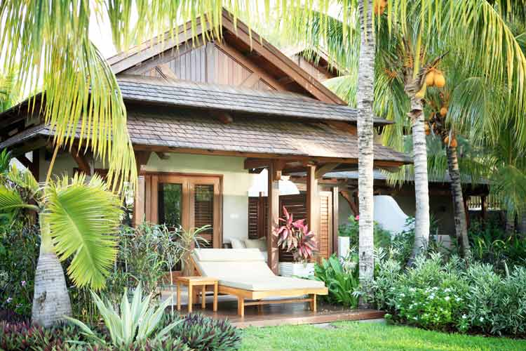 Lux Le Morne Mauritius-colonial chalet room