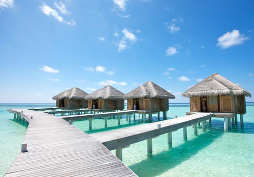 Lux-South-Ari-water villas