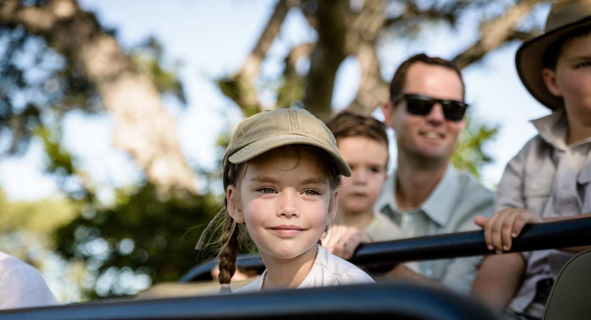 Singita Castleton Kids safari