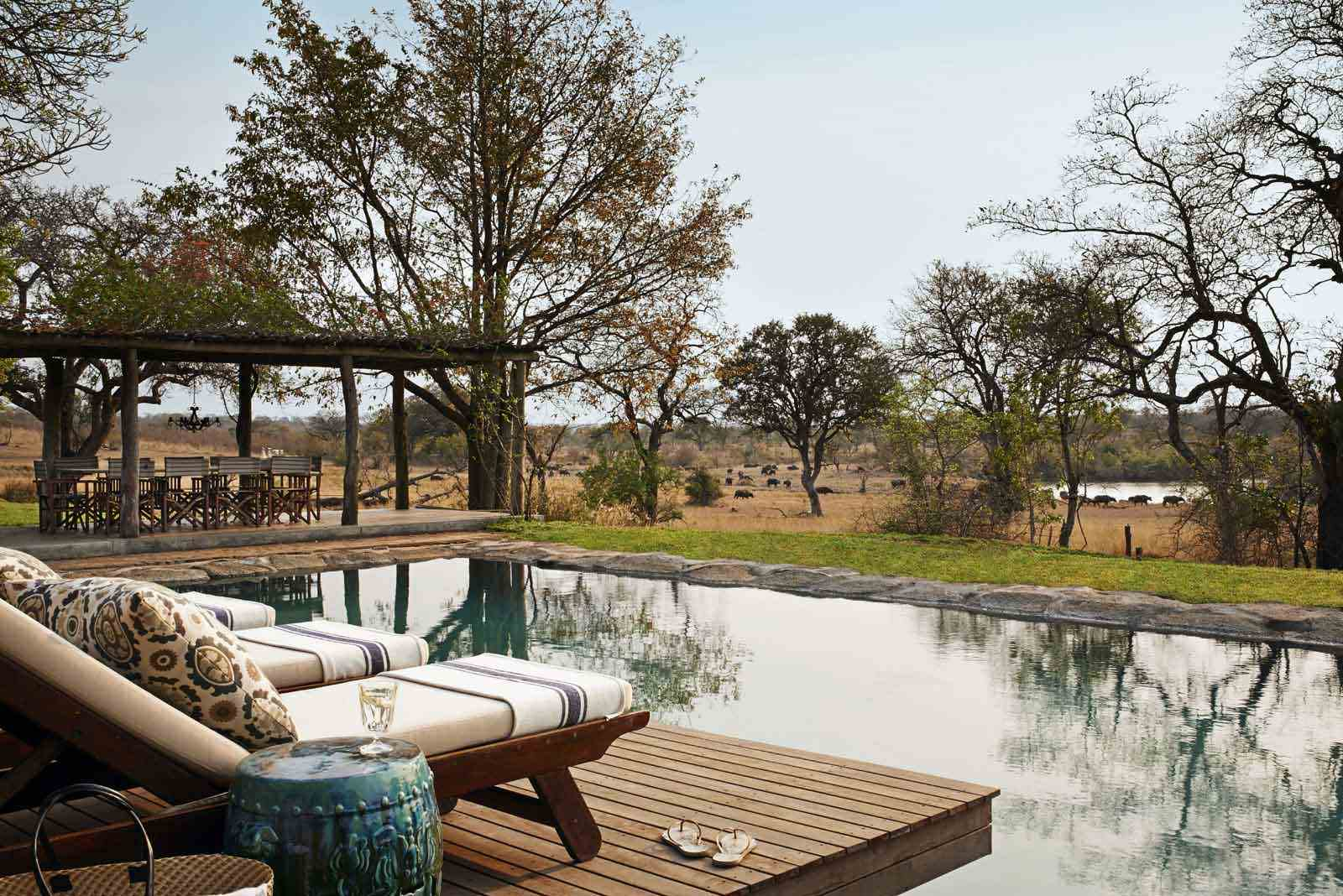 Singita Castleton Peaceful swimming pool