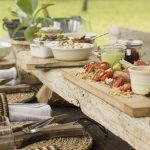 Singita Castleton Lunch in the nature