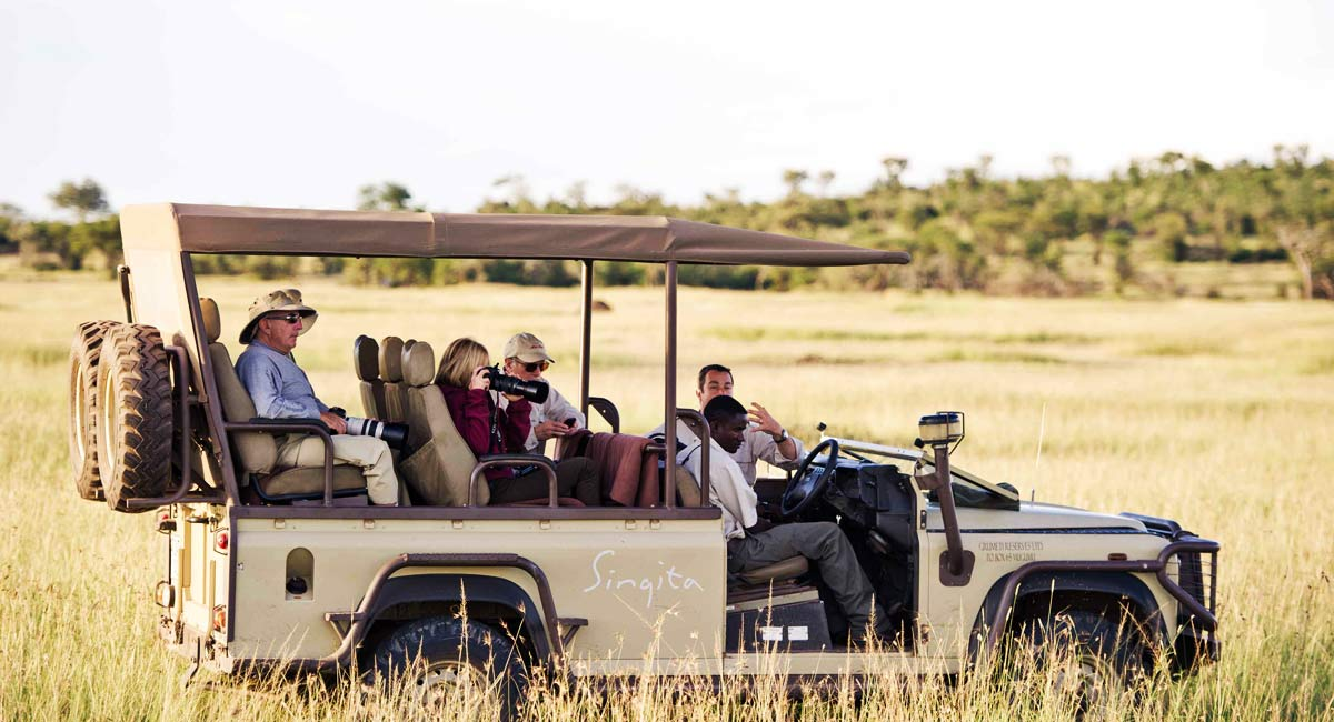 Singita Explore Jeep