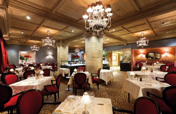 Gstaad Palace restaurant