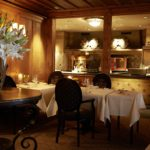 Gstaad Palace intimate dinning