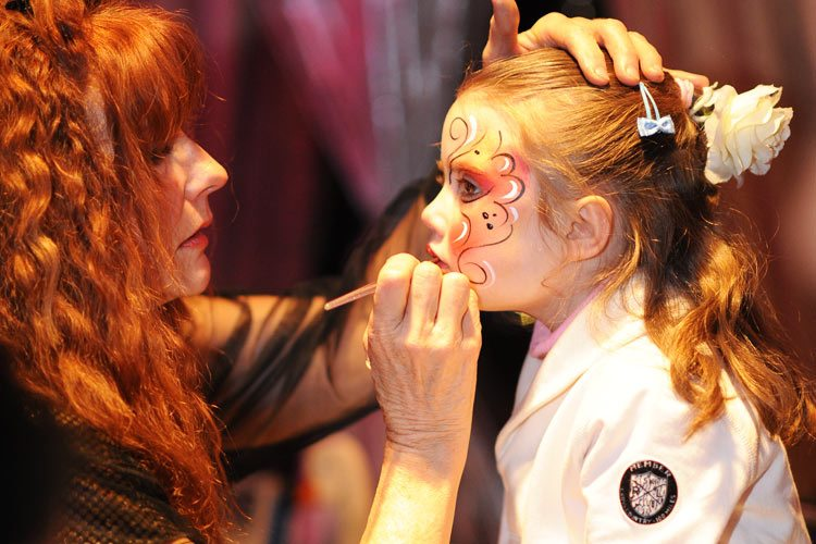 Gstaad Palace-face painting