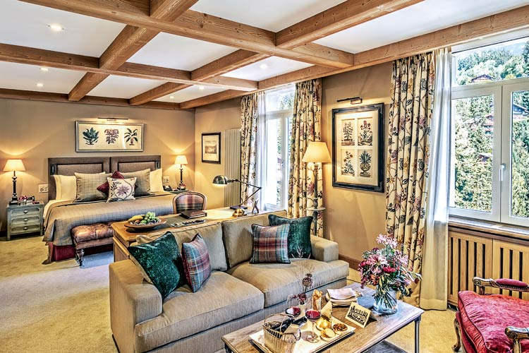 Gstaad Palace-suite