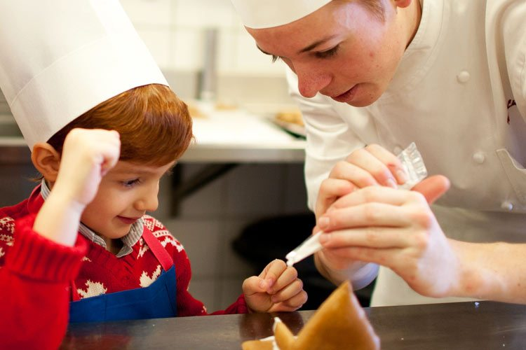 Gstaad Palace-pastry courses for children