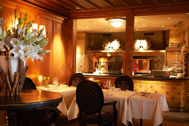 Gstaad Palace-rotisserie
