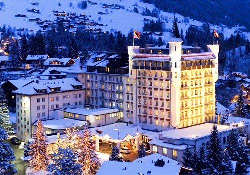Gstaad Palace-external view