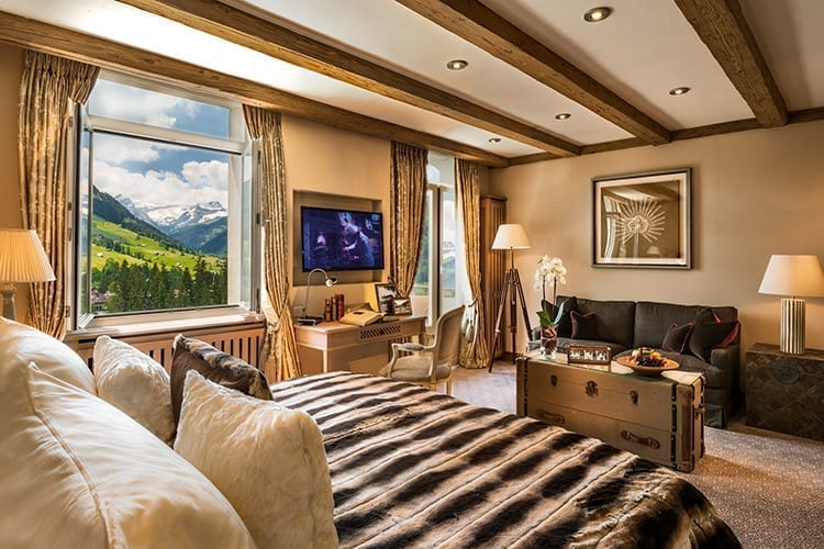 Gstaad Palace room