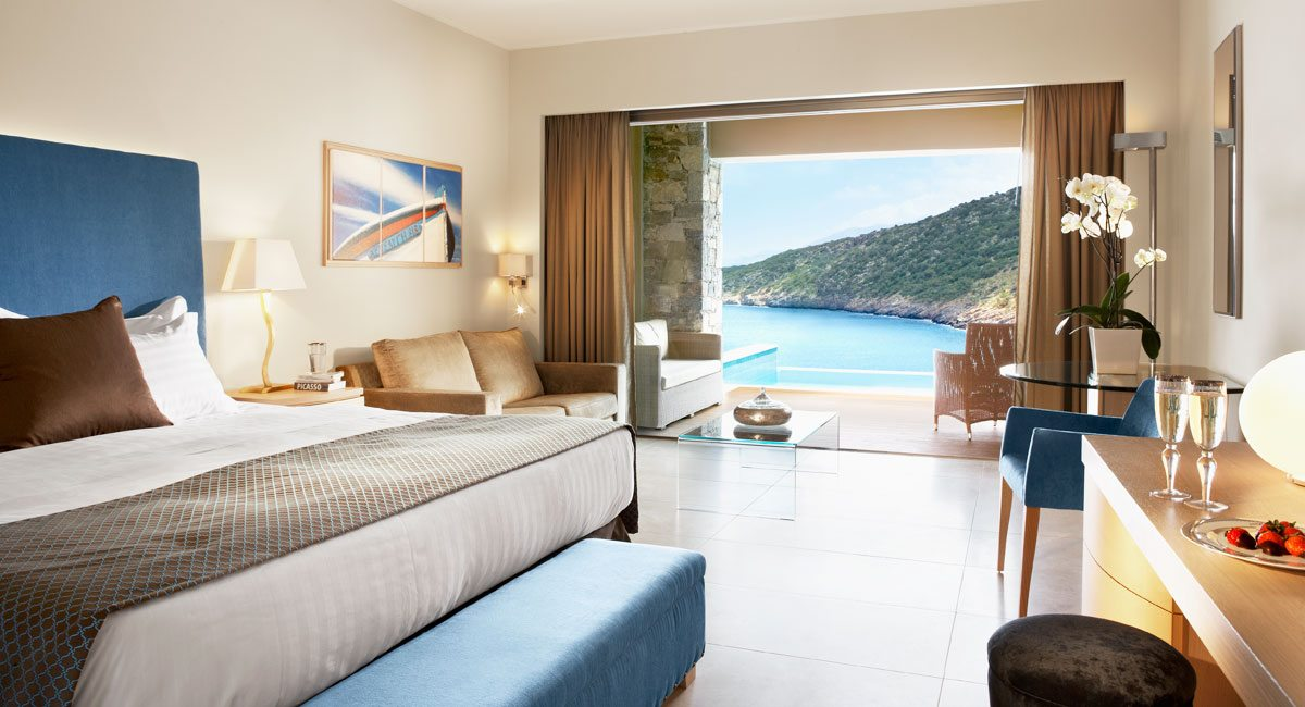Daios Cove Hotel-deluxe seaview room