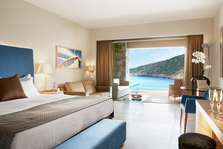 Daios Cove Deluxe Sea View Room with Private Pool