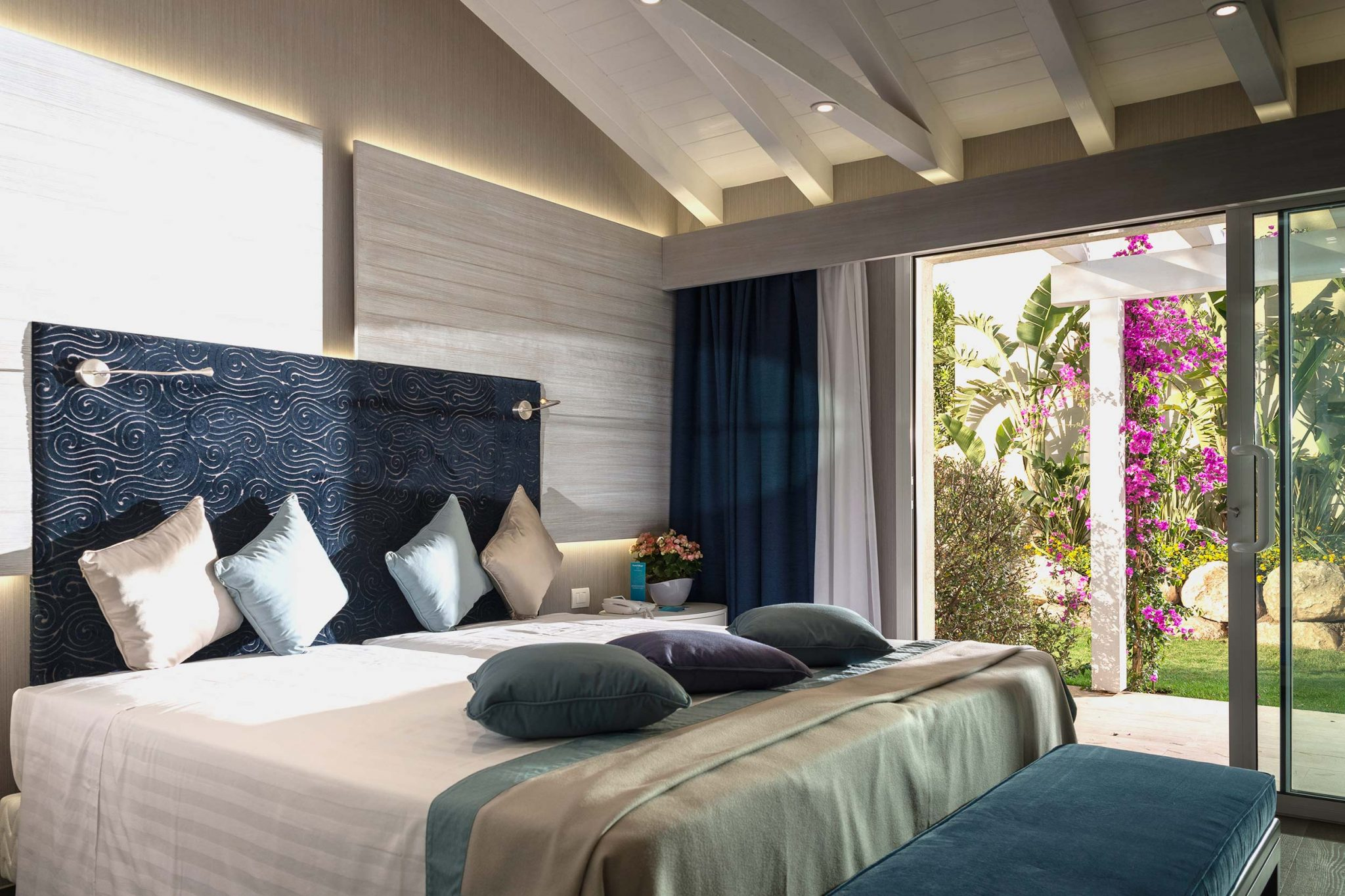 Bedroom of Forte Village Resort