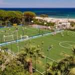 Football fields of Forte Village Resort