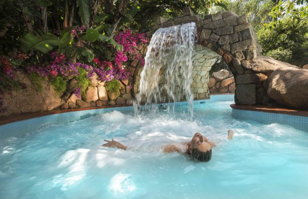 Spa's pool at Forte Village Resort