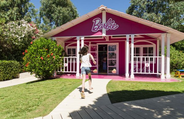 Barbie house at Forte Village Resort