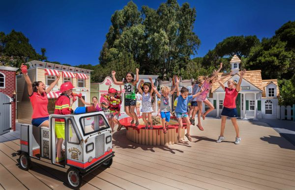 Kids club activity at Forte Village Resort