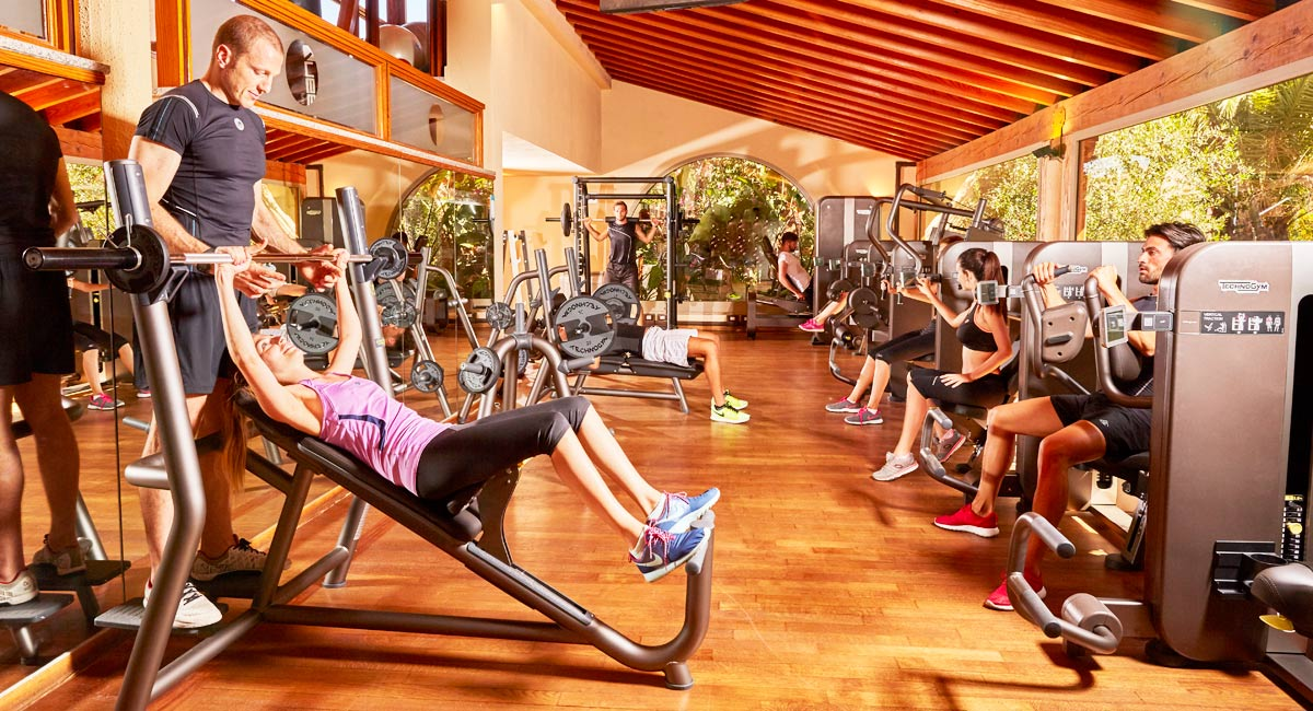 Forte Village Resort-fitness room