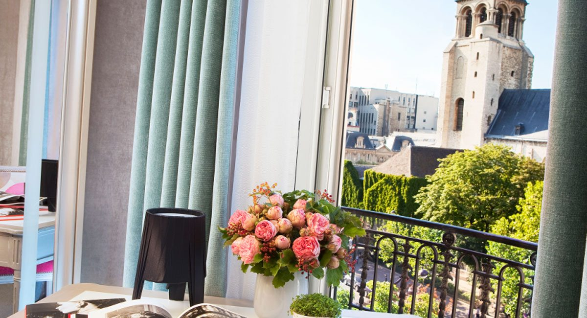 Hotel Madison Paris-room with a view