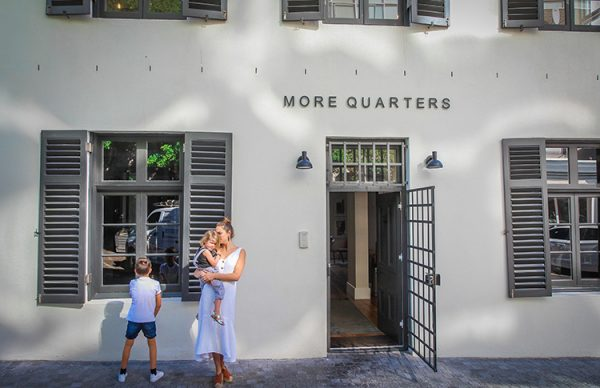 The entrance of the More Quarters