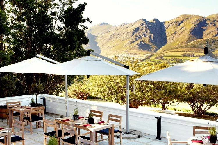 Mont Rochelle South Africa Terrace