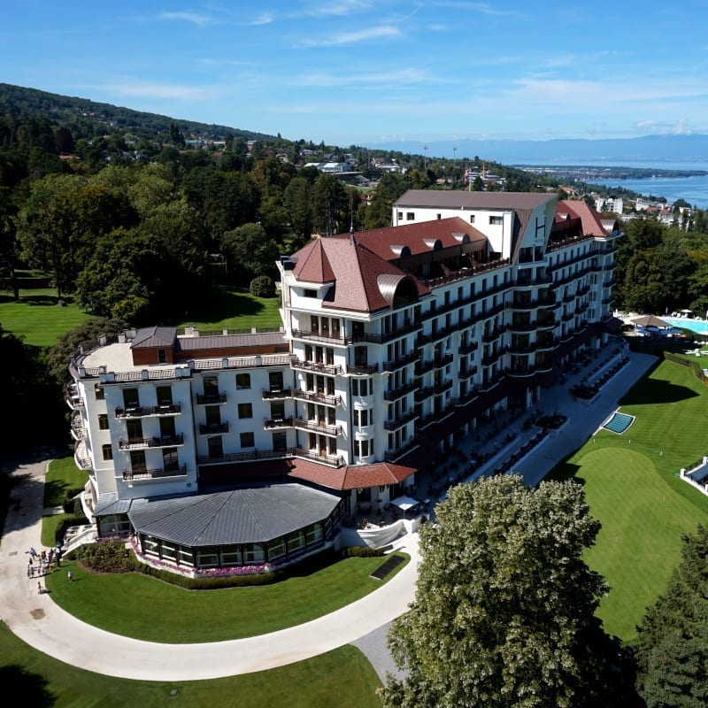 Royal Evian panoramic view