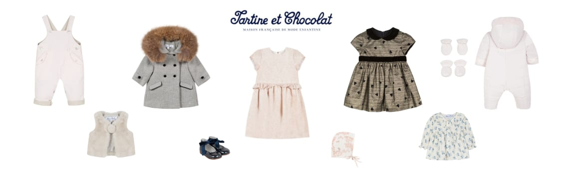 Little Guest Hotels Collection Tartine & Chocolat Baby Clothes