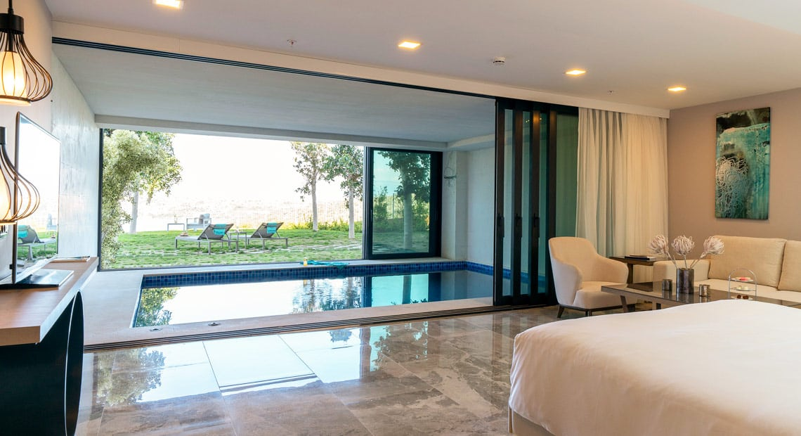 Lux Hotel Bodrum-private pool
