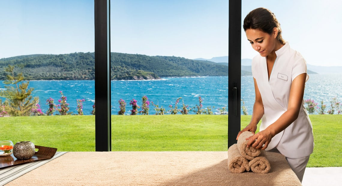 Lux Hotel Bodrum-spa with sea view